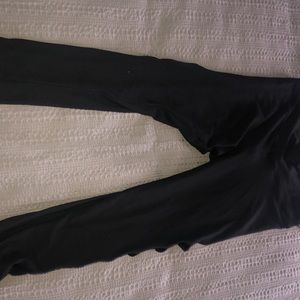 Express side ripped leggings